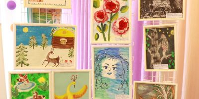 Арт-салон «Разноцветный мир детства»