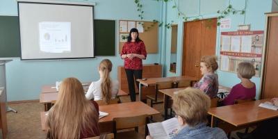 Работа учителя русского языка и литературы по профессиональной ориентации учащихся