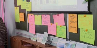 Иностранный язык на службе экологического воспитания