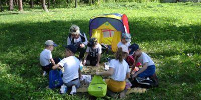 Городской туристский слет дошкольников